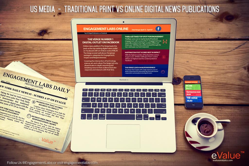 US Media - Traditional Print vs Online Digital News Publiciations