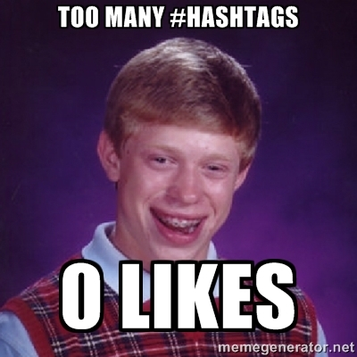 Image result for stop using hashtags
