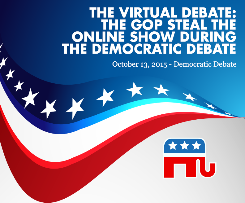 American Political Graphic - Democratic Debate