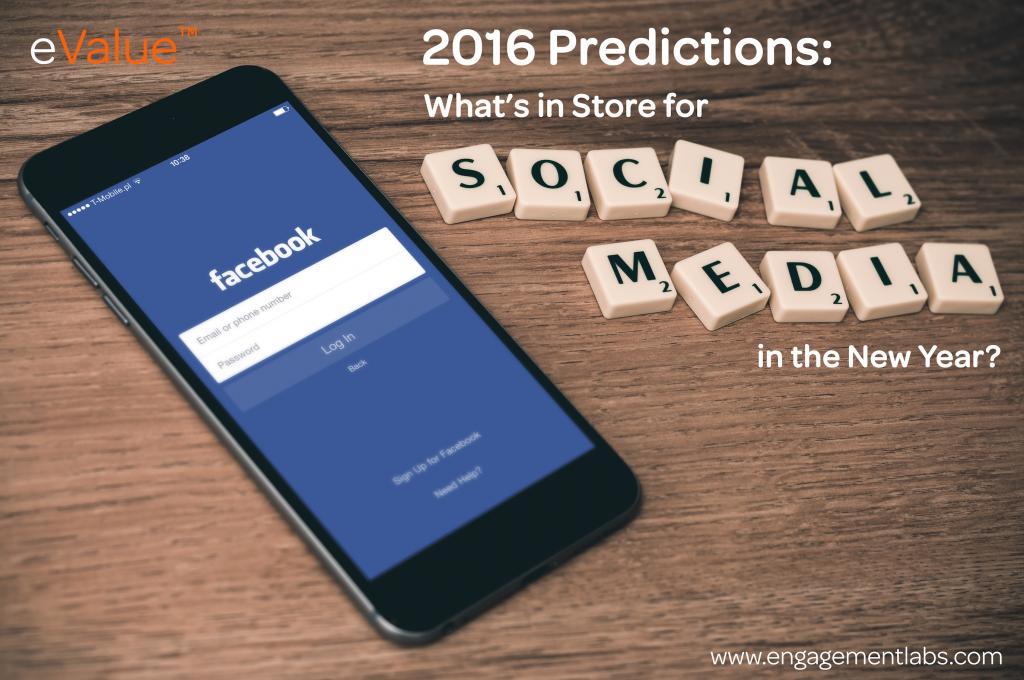 2016 Social Media Predictions