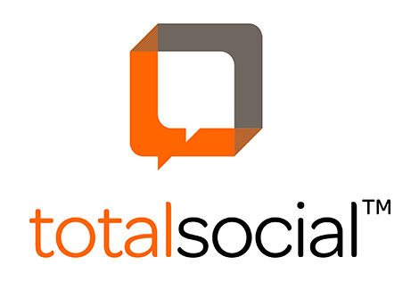 Total Social Stacked Logo