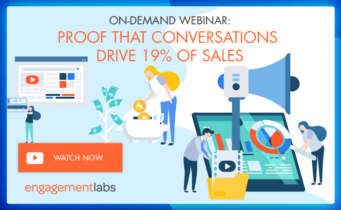 On-Demand Webinar: Proof that Conversations Drive 19% of Sales