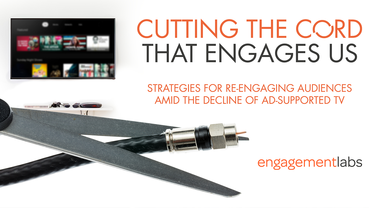 REPORT: Cutting the Cord That Engages Us
