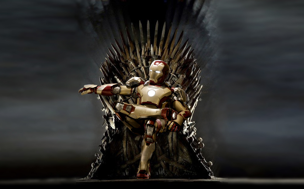 Iron Man on the Iron Throne