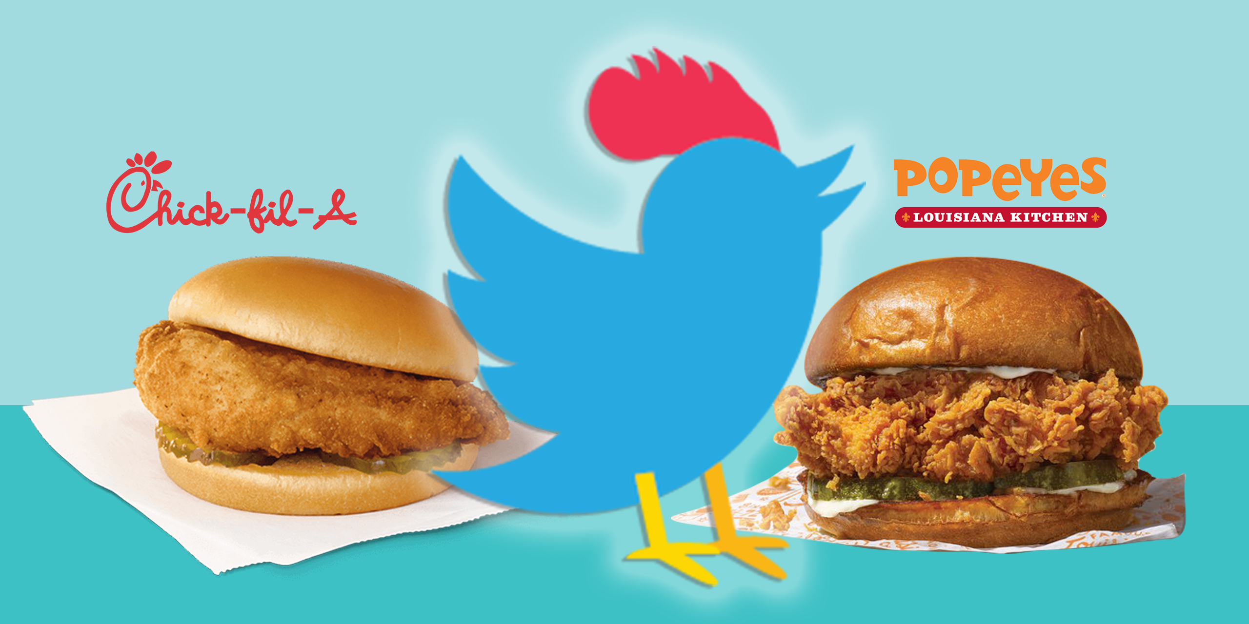 Chick-fil-A in Chicken Fight with Popeyes, but Wendy's Rules the Roost