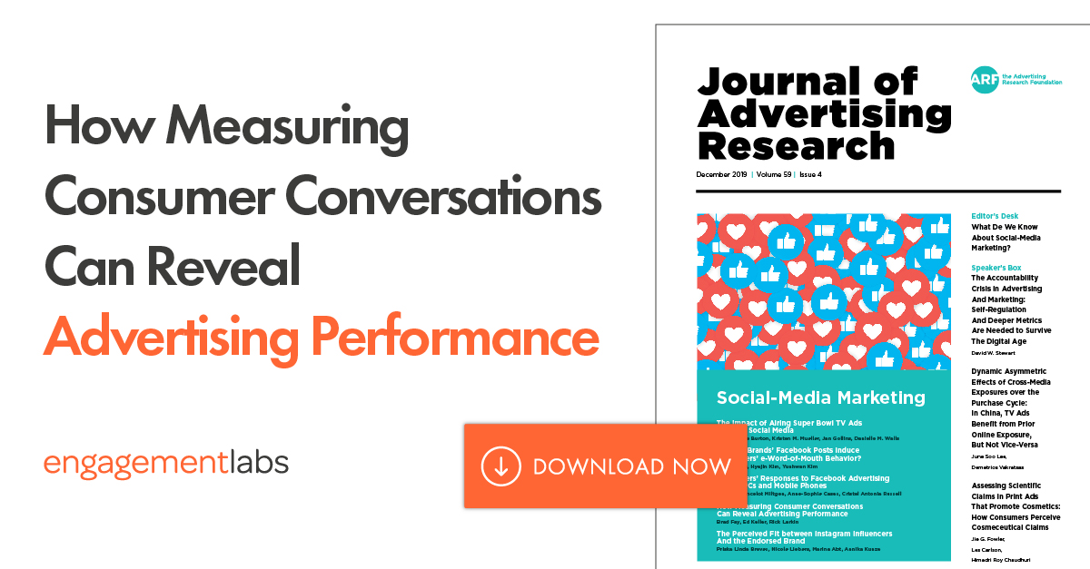How Measuring Consumer Conversations Can Reveal Advertising Performance